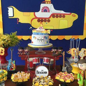 Foto de Decoração com Música Yellow Submarine